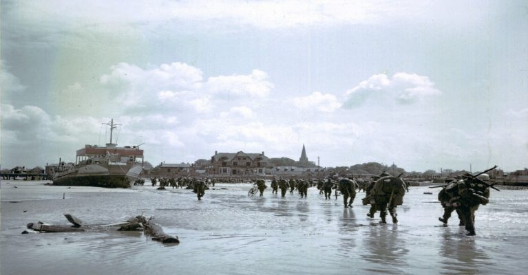 Canadian experience on D-Day- 1 day