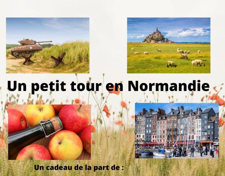 Offrez une carte cadeau: une visite guidée en Normandie!